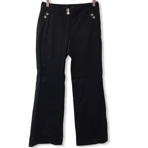 White House Black Market dress pants black 2S NEW
